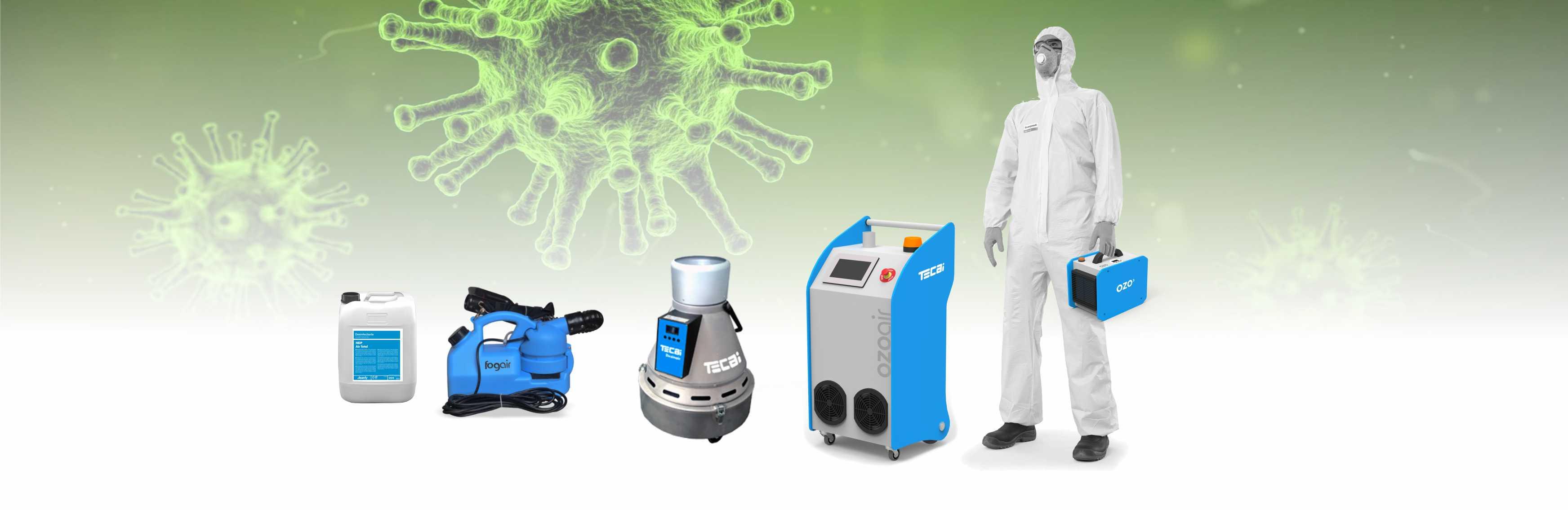 equipos desinfeccion virus