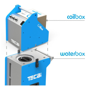 Portable HVAC coil cleaning system