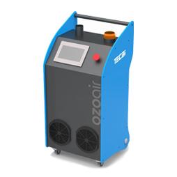generador de ozono. desinfección de coronavirus