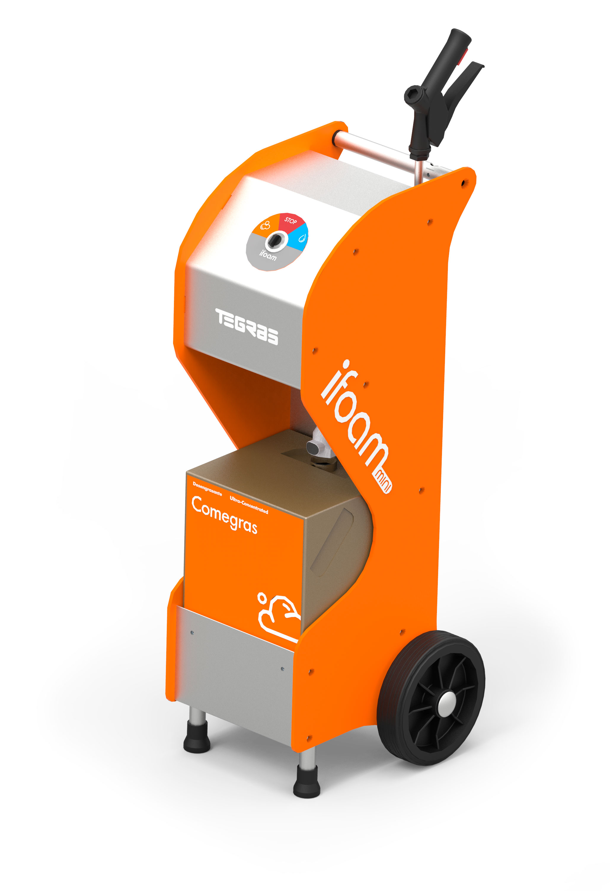 limpieza campanas generador de espuma compresor aire comprimido monofasico