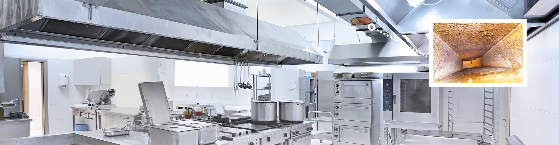 Kitchen exhaust cleaning equipment