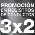3X2 Registros Conductos