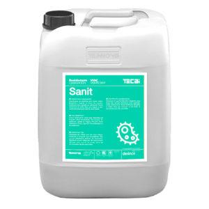 Sanit. Desinfectante de superficies para zonas críticas. Bactericida y fungicida sin formol