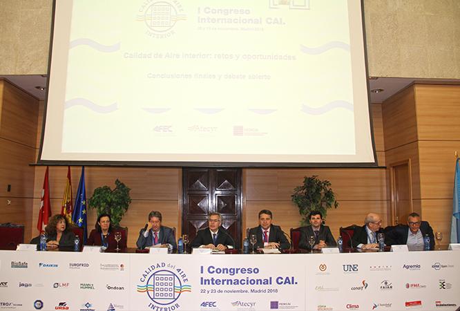 CONGRESO CAI LIMPIEZA SISTEMAS CLIMATIZACIÓN