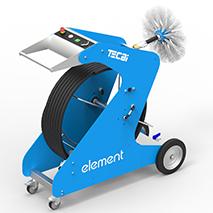 máquina de limpieza de conductos de aire acondicionado