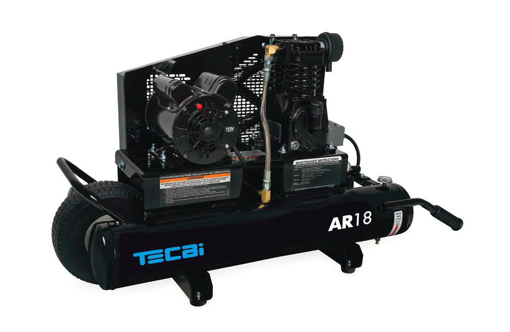 AR18 generador de aire comprimido para limpieza de sistemas de climatización