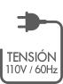 tension 110 v 60 hz