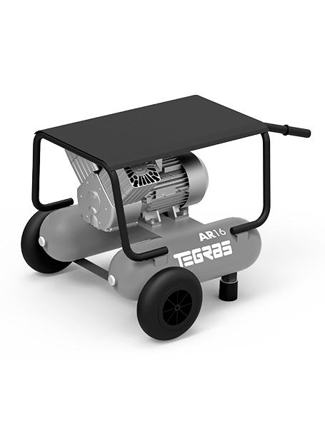 Generador de aire comprimido para limpieza de sistemas de extracción de humos