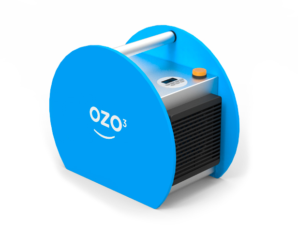 Ozonizador portátil para desinfección de salas