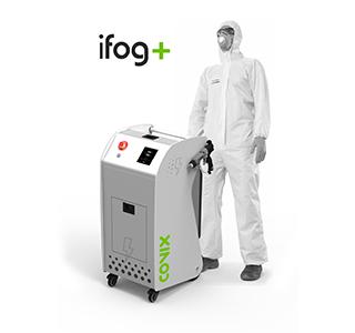 Nebulizador electrostático para desinfección ifog+